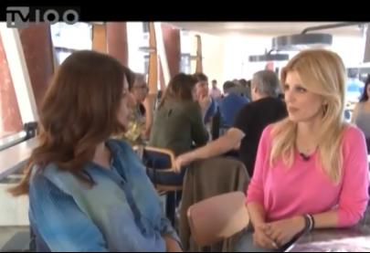 """Η Έλενα Ράπτη στην εκπομπή """"Πάρτε θέση"""" στο κανάλι tv100 - 30.4.2018"""