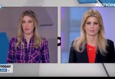 """Η Έλενα Ράπτη στην εκπομπή """"TODAY"""" στο κανάλι Action24 - 30.11.2017"""