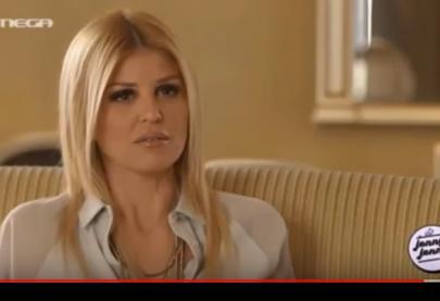 """Η Έλενα Ράπτη στην εκπομπή """"Jenny Jenny"""" - Mega tv 24.1.2016"""