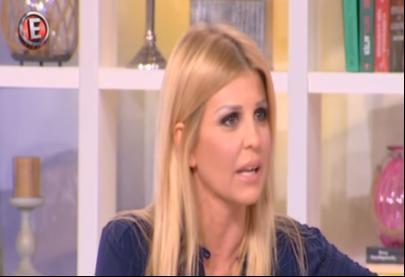 """Η Έλενα Ράπτη στην εκπομπή Tatiana Live μιλάει για την καμπάνια """"1 στα 5"""" Κανάλι Ε - 30.6.2016"""