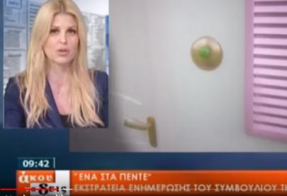 """Η Έλενα Ράπτη στην εκπομπή """"άκου να δείς"""" - tv 100"""