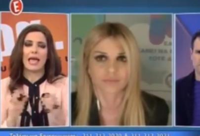 """Η Έλενα Ράπτη στο κανάλι Ε στην εκπομπή """"τώρα ότι συμβαίνει"""""""