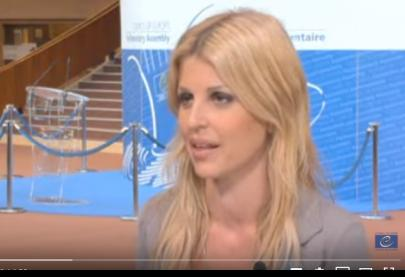 Interview of the Greek Parliamentarian Eleni Rapti, ONE in FIVE Campaign