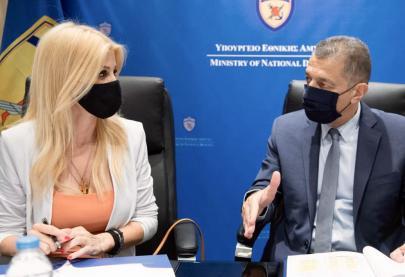 Το Υπουργείο Εθνικής Άμυνας, στο πλαίσιο της διάδοσης των μηνυμάτων της καμπάνιας «ΕΝΑ στα ΠΕΝΤΕ» του Συμβουλίου της Ευρώπης, διοργανώνει μια σειρά διαδικτυακών ομιλιών ενημερωτικού χαρακτήρα, με θέμα: «Πρόληψη και αντιμετώπιση της παιδικής σεξουαλικής κακοποίησης».  Σκοπός της τέταρτης διαδικτυακής εκδήλωσης, στην οποία μίλησα μαζί με την Υπαστυνόμο Α' Ελεάνα Γιαννάκου, Αναπλ. Τμηματάρχη του Τμήματος Προστασίας Ανηλίκων της Υποδιεύθυνσης Ασφαλείας Ανηλίκων της Διεύθυνσης Ασφαλείας Θεσσαλονίκης, είναι η ενημέρωση και ευαισθητοποίηση του προσωπικού και των γονέων των παιδιών που είναι εγγεγραμμένα στους βρεφονηπιακούς σταθμούς Α' και Β' Θεσσαλονίκης, Βέροιας, Τρικάλων και Λάρισας των Ενόπλων Δυνάμεων.